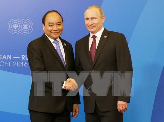 Destacan resultado de visita oficial del premier vietnamita a Rusia hinh anh 1