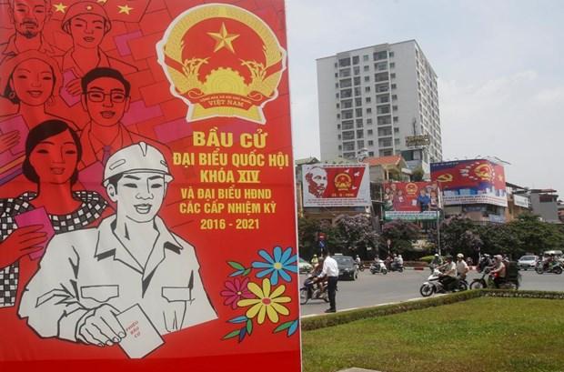 Prensa internacional informa sobre elecciones generales de Vietnam hinh anh 2