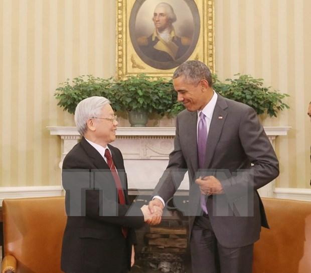 Nuevo avance en relaciones Vietnam – EE.UU. hinh anh 2