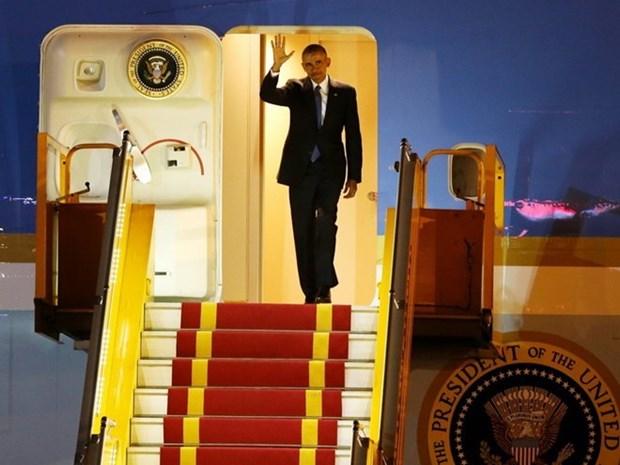 Obama inicia visita oficial a Vietnam hinh anh 1