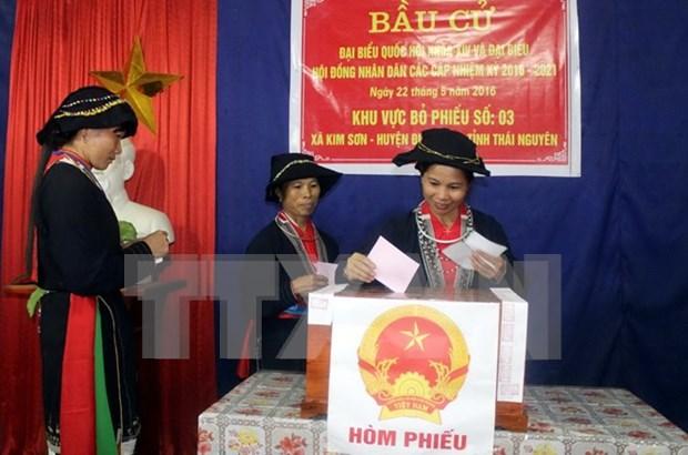 Participacion de votantes llego a 98,77% en Vietnam hinh anh 1