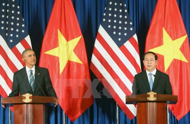 Emiten declaracion conjunta Vietnam - Estados Unidos hinh anh 1