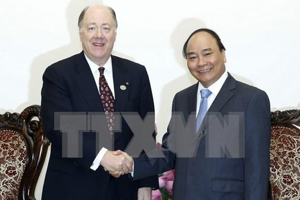 Para Vietnam es importante la cooperacion con EE.UU., dijo premier hinh anh 1