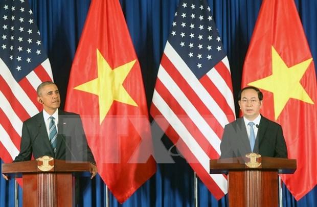 Lazos Vietnam- Estados Unidos captan atencion especial de prensa francesa hinh anh 1