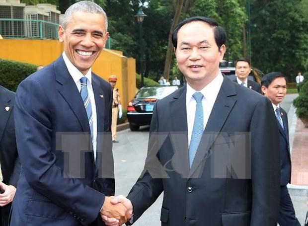 Publicaciones internacionales destacan visita de Obama a Vietnam hinh anh 1