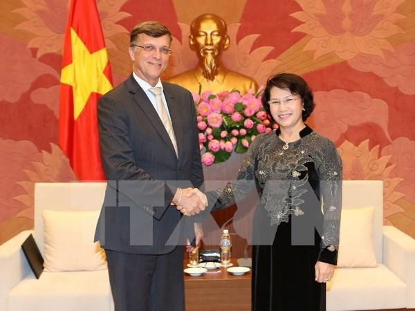 Dirigente vietnamita resalta ayuda oficial para el desarrollo de Australia hinh anh 1