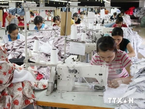 Asisten a exportadores vietnamitas de productos textiles hinh anh 1