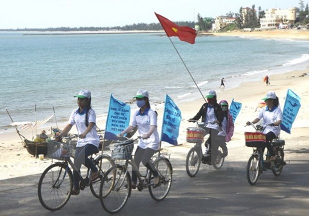 Lanzara Vietnam la Semana de Mar e Islas con tema por un planeta verde hinh anh 1