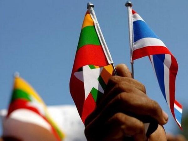 Tailandia y Myanmar fomentan lazos militares hinh anh 1