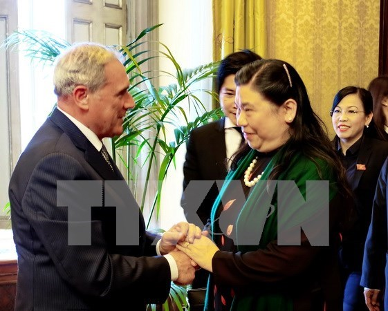 Vietnam atesora asociacion estrategica con Italia, afirma subtitular parlamentaria hinh anh 1