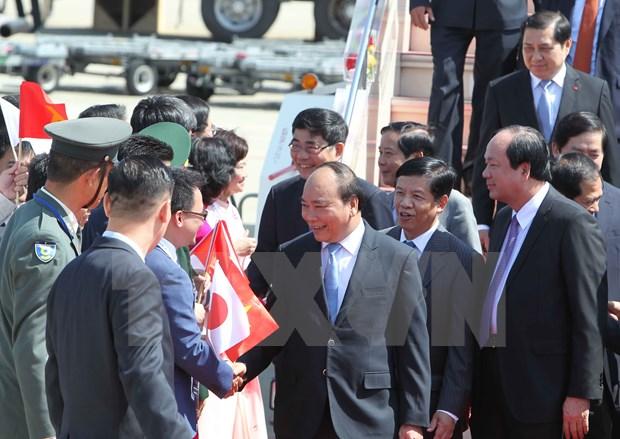 Primer ministro de Vietnam llega a Japon hinh anh 1