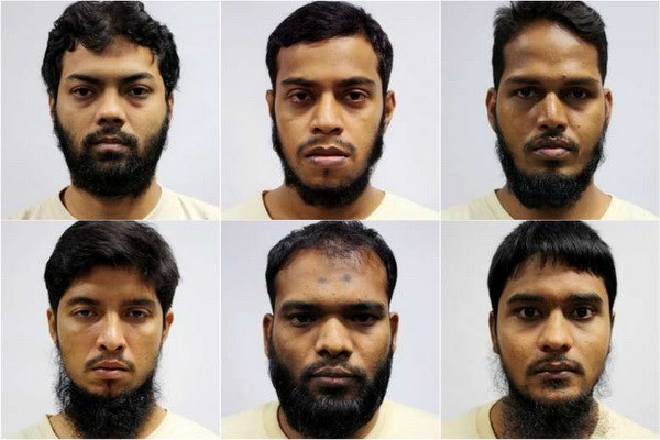 Seis bangladesies enfrentan cargo de terrorismo en Singapur hinh anh 1