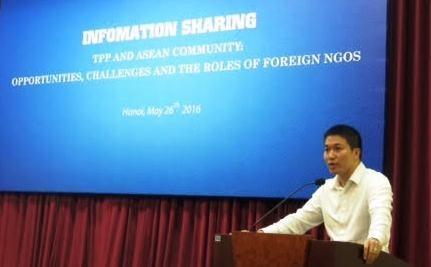 Sesiona en Vietnam seminario para mejorar actividades de ONG hinh anh 1