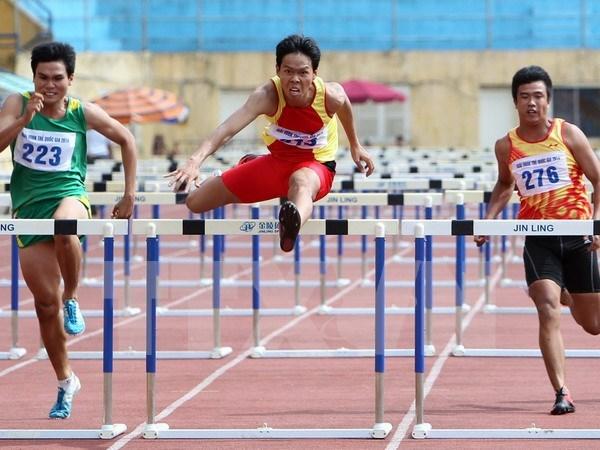 En Ciudad Ho Chi Minh campeonato juvenil asiatico de atletismo 2016 hinh anh 1
