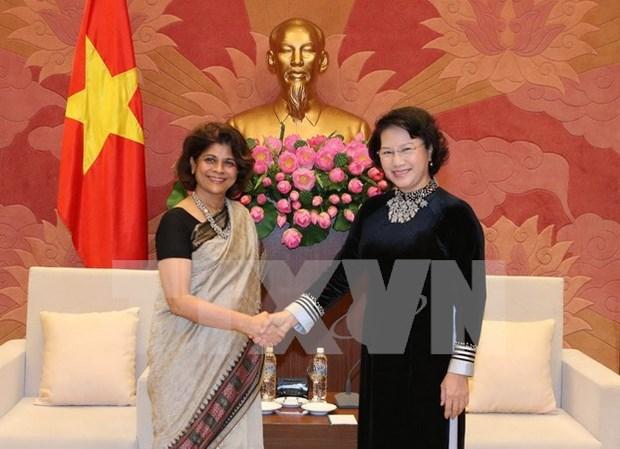 Lider parlamentaria vietnamita urge ayuda de ONU en metas de desarrollo sostenible hinh anh 1
