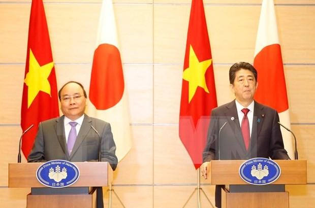 Primer ministro vietnamita concluye visita a Japon hinh anh 1