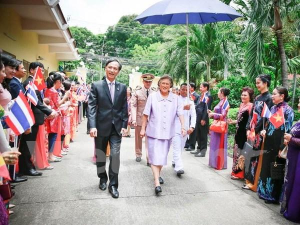 Princesa tailandesa participa en la presentacion de libro sobre Vietnam hinh anh 1
