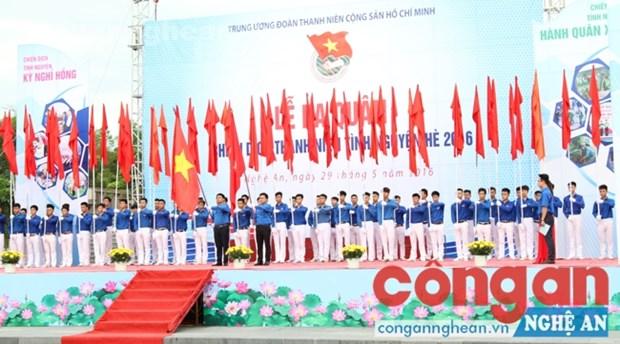Campana de juventud vietnamita busca apoyar a zonas con dificultades hinh anh 1