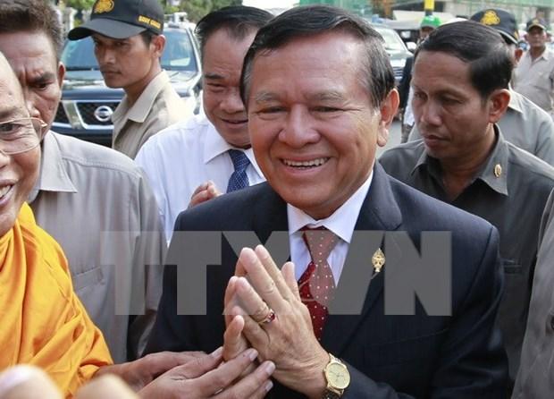 Parlamento de Camboya permite accion legal contra lider de CNRP hinh anh 1
