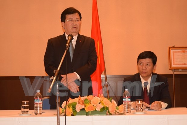 Vicepremier exige promover cooperacion multisectorial con Japon hinh anh 1