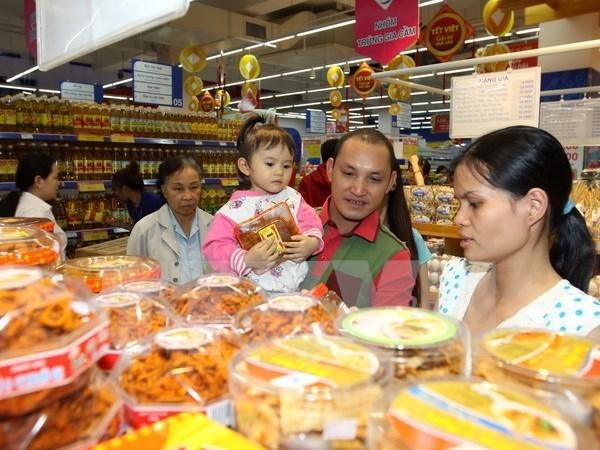 Incrementan indice de confianza de consumidores en Vietnam hinh anh 1