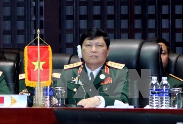 Ministro de Defensa de Vietnam viaja a Camboya hinh anh 1