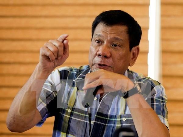 Proclamado Rodrigo Duterte presidente de Filipinas hinh anh 1