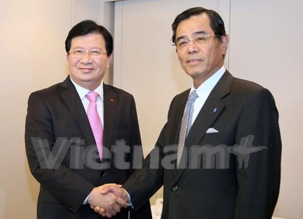 Vietnam maximizara condiciones para exito de empresas japonesas, afirma vicepremier hinh anh 1