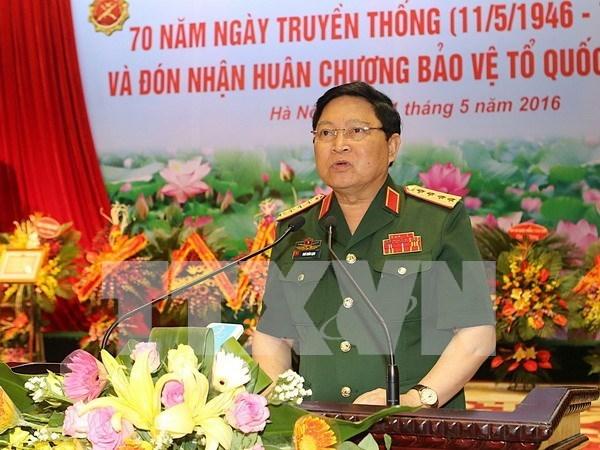 Ministro vietnamita de Defensa se reune con homologo camboyano hinh anh 1