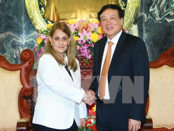 Vietnam y Cuba robustecen cooperacion judicial hinh anh 1