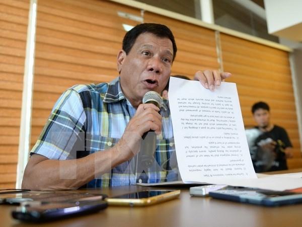 Presidente electo de Filipinas nomina miembros de gabinete hinh anh 1
