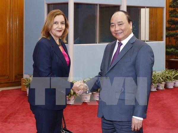 Premier recibe a ministra cubana de Ciencia, Tecnologia y Medio Ambiente hinh anh 1