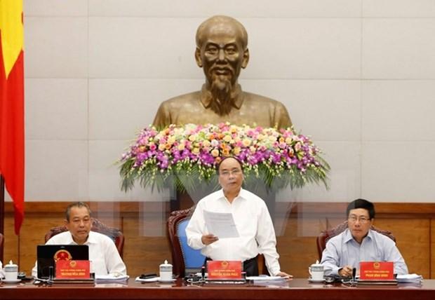 Califica Gobierno vietnamita de tarea primordial perfeccionamiento institucional hinh anh 1