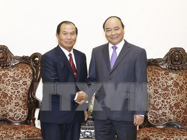 Premier vietnamita respalda cooperacion juridica con Laos hinh anh 1