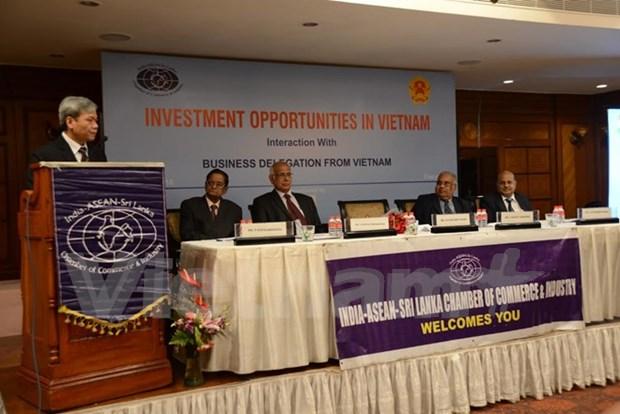 Sesiona conferencia para promover inversiones indias en Vietnam hinh anh 1