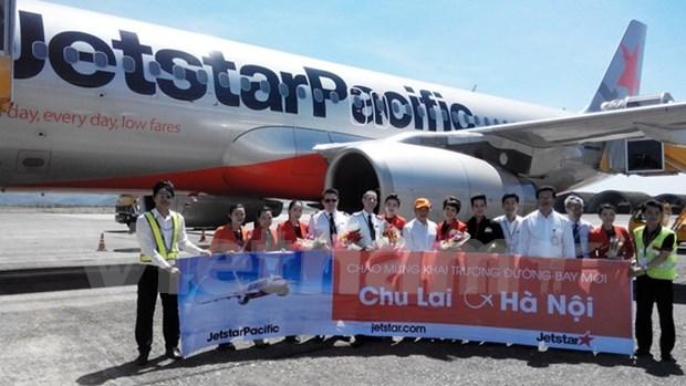 Jestar Pacific abre vuelos directos de Hanoi a Chu Lai y Quy Nhon hinh anh 1