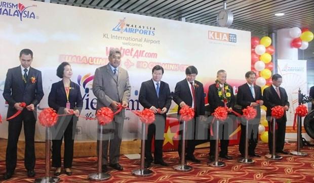 Vietjet opera vuelos directos Ciudad Ho Chi Minh – Kuala Lumpur hinh anh 1