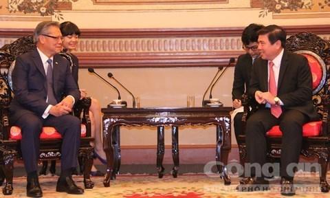 Ciudad Ho Chi Minh y Australia Meridional refuerzan cooperacion hinh anh 1