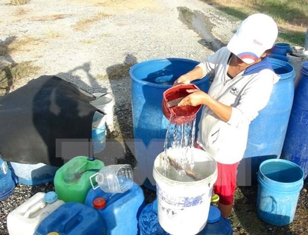 Japon concede ayuda a Vietnam en lucha contra sequia y salinizacion hinh anh 1