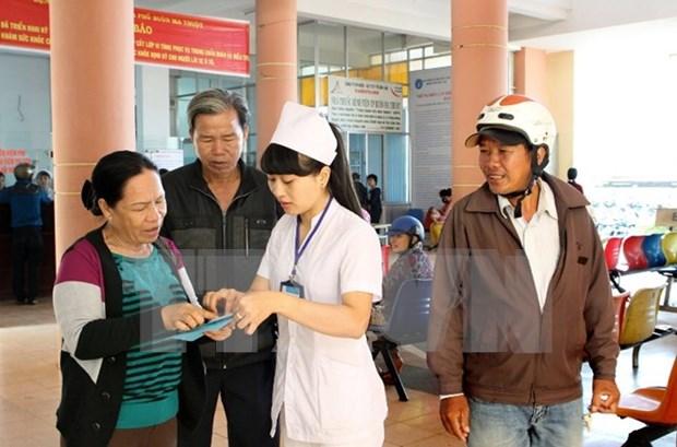 Provincia vietnamita amplia cobertura de seguro medico hinh anh 1