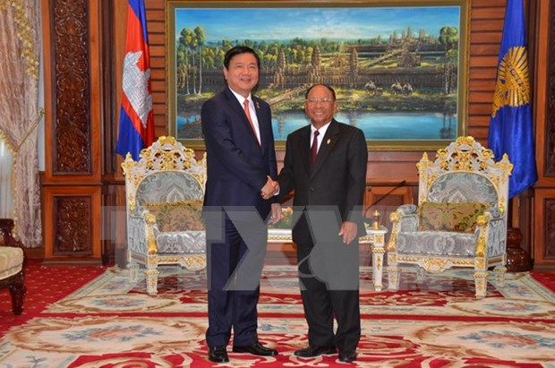 Refuerzan cooperacion entre Ciudad Ho Chi Minh y localidades camboyanas hinh anh 1