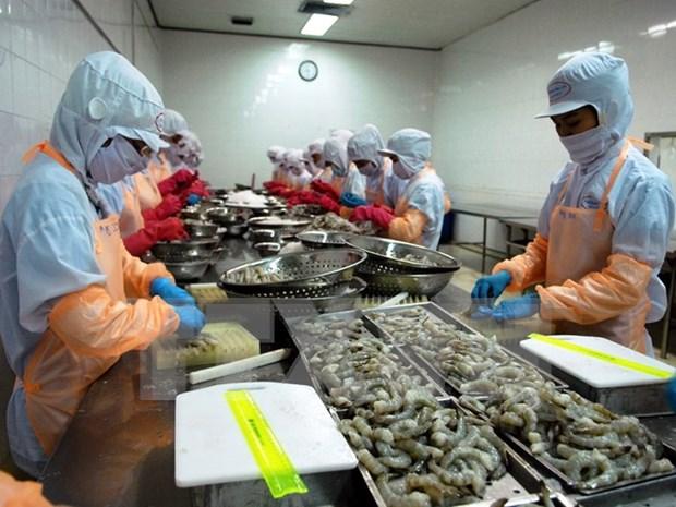 Casi la mitad de camarones importados por Sudcorea procedieron de Vietnam hinh anh 1