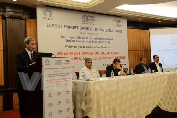 Impulsan inversion de India en sector textil de Vietnam hinh anh 1