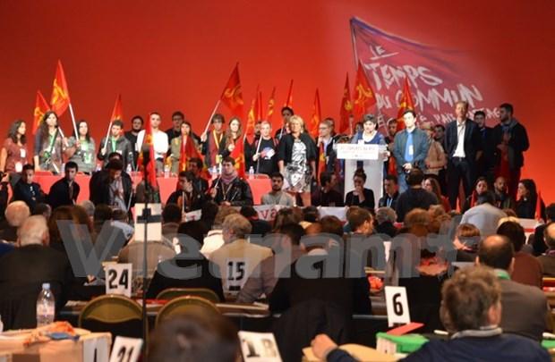Vietnam asiste al 37 Congreso del Partido Comunista de Francia hinh anh 1