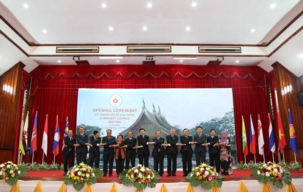 Vietnam en reunion sobre Comunidad de Cultura - Sociedad de ASEAN hinh anh 1