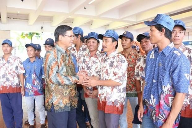 Vietnam e Indonesia buscan impulsar cooperacion pesquera hinh anh 1