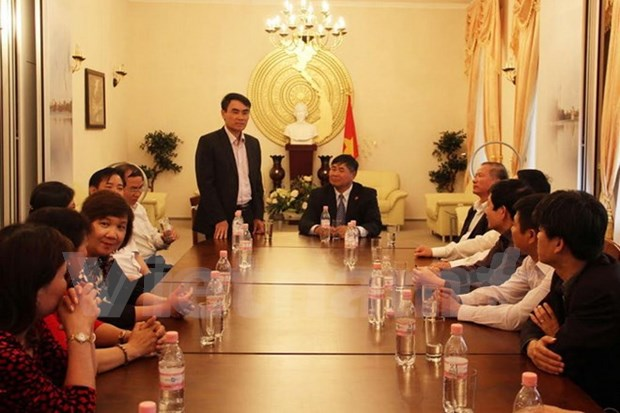 Vietnam impulsa cooperacion en defensa y seguridad con Alemania hinh anh 1