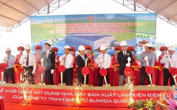 Inauguran en provincia vietnamita planta de inversiones japonesas hinh anh 1