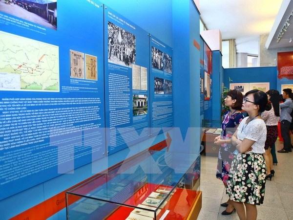 Abierta exposicion sobre el camino de liberacion nacional de Ho Chi Minh hinh anh 1