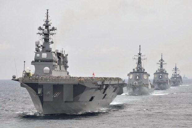 Japon y Reino Unido buscan medidas de apoyo a ASEAN en capacidades maritimas hinh anh 1